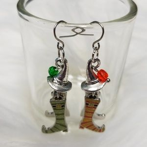 Jewelry - So Sweet Witch Earrings Hand Designed